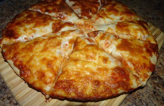 Homemade Pan Pizza