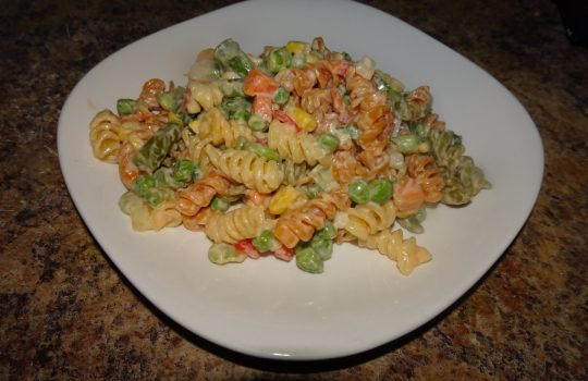 Haitian Macaroni Salad